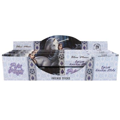 Blue Moon Incense Sticks By Anne Stokes Box of Six