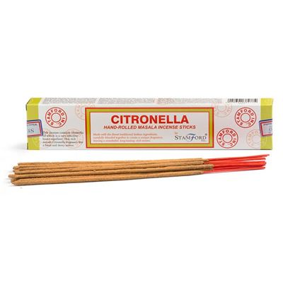 Citronella Stamford Masala Incense Sticks 15g Box