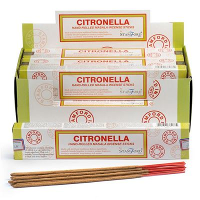 Citronella Stamford Masala Incense Sticks Box Of Twelve Special Offer