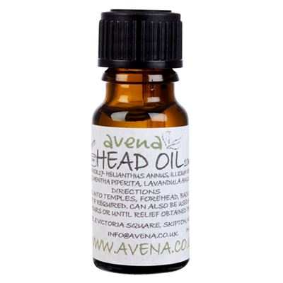 Head Oil A natural alternative to headache & migraine pills