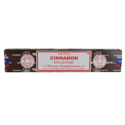 Cinnamon Satya Incense Sticks 15g Box