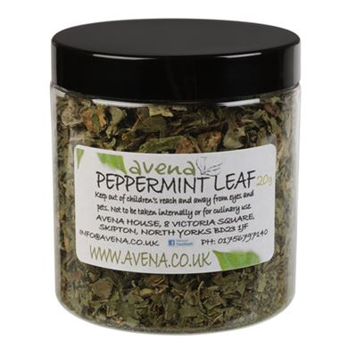 Peppermint Leaf Cut 20g Jar