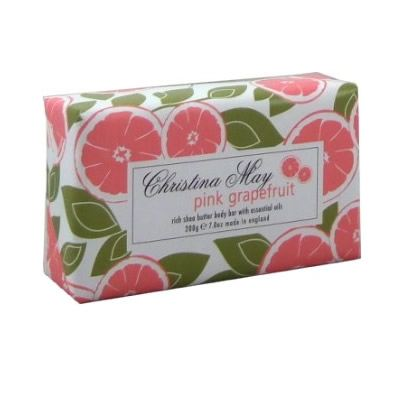 Pink Grapefruit Soap Bar 200g by Christina May
