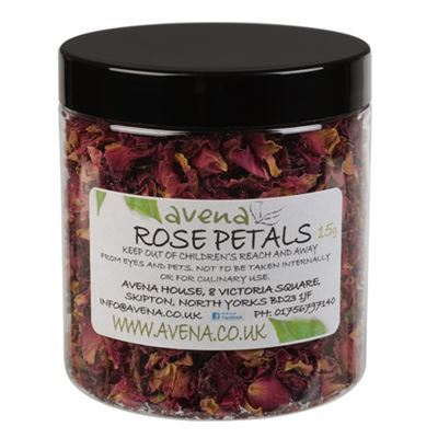 Rose Petals Bath Confetti 15g Jar