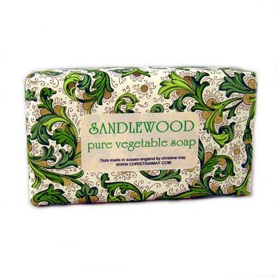 Sandalwood Soap Bar 200g by Christina May