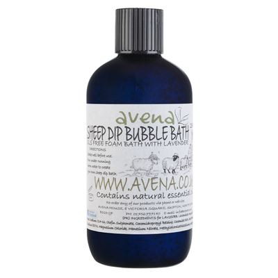 Sheep Dip Bubble Bath 250ml SLS Free Bubble Bath with Essential Oils