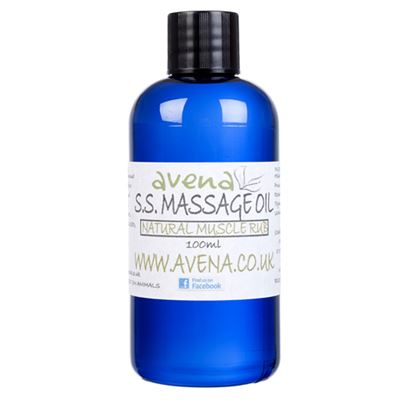 SS Muscle Massage Oil Strains & Sprains