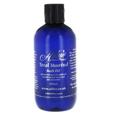 Total Unwind Luxury Bath Oil from Abluo 200ml + 50ml Extra Free