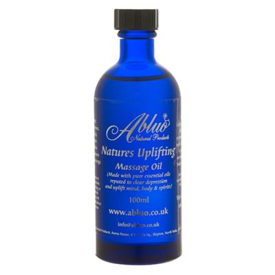 Uplifting Luxury Massage Oil from Abluo 100ml