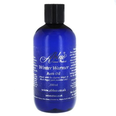 Winter Warmer Bath Oil from Abluo 200ml + 50ml Extra Free