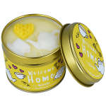 Welcome Home Candle in a Tin