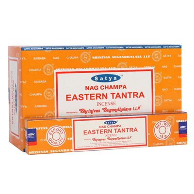 Eastern Tantra Satya Incense Sticks 15g Box of Twelve Special Offer