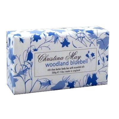 Woodland Bluebell Soap Bar 200g by Christina May