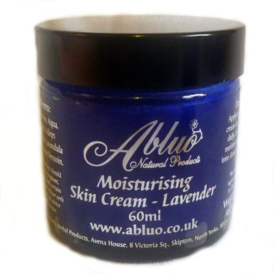 Lavender Moisturising Skin Cream from Abluo 60ml