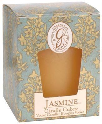 Jasmine Greenleaf Votive Candle