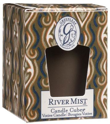River Mist Greenleaf Votive Candle
