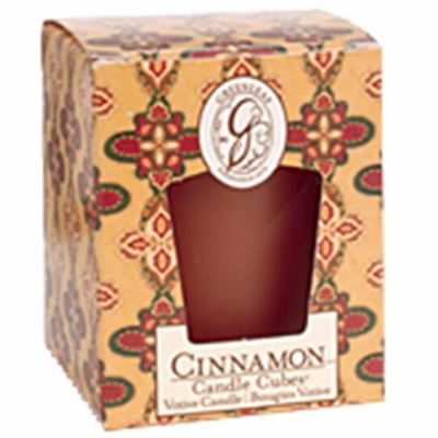 Cinnamon Greenleaf Votive Candle