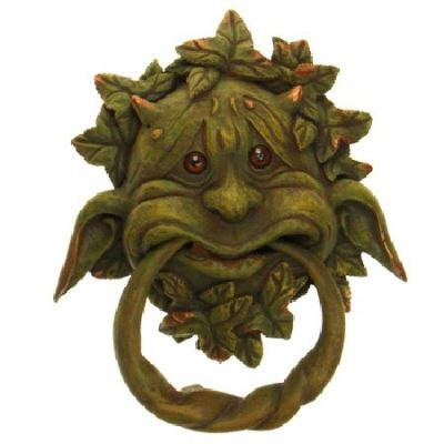 Gargoyle Door KnockerPlaque- Boldly