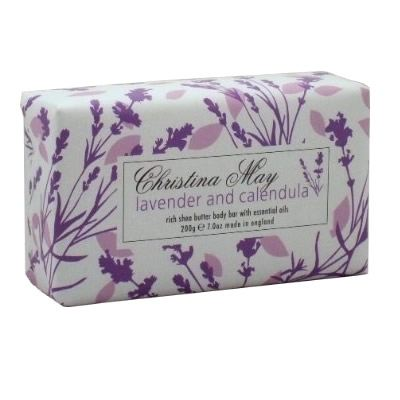 Lavender and Calendula Soap Bar 200g by Christina May