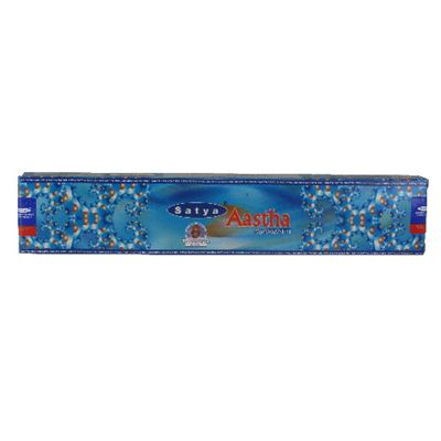 Aastha Incense Sticks Satya 15g Box