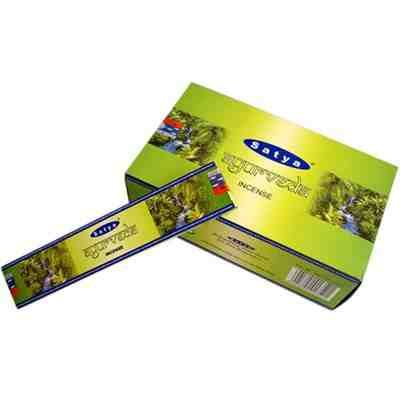Ayurveda Nag Champa Incense Sticks 15g Box