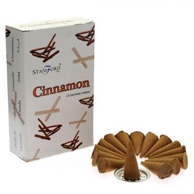 Cinnamon Incense Cones Stamford 15`s Box
