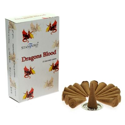 Dragons Blood Incense Cones Stamford 15`s Box