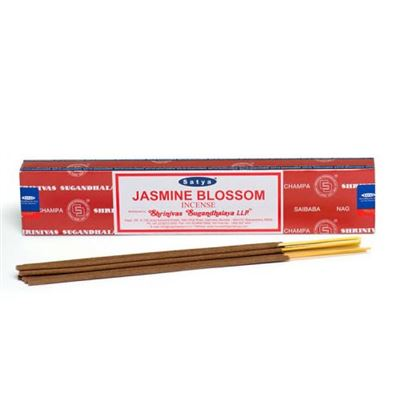Jasmine Blossom Nag Champa Incense Sticks 15g Box