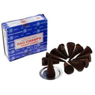 Nag Champa Incense Cones 12`s Box