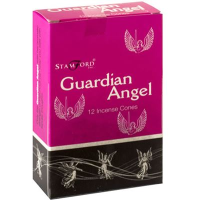 Guardian Angel Incense Cones Stamford 12s Box