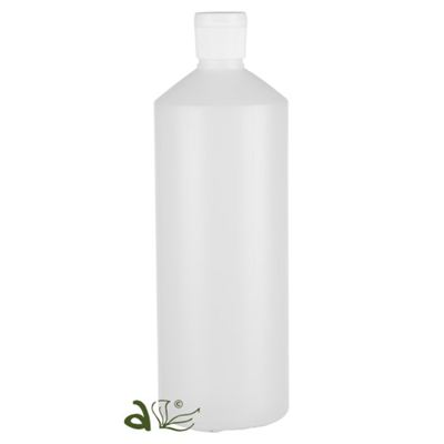 Plastic Bottles Frosted Slim with Jay Snap Cap 1000ml