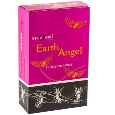 Earth Angel Incense Cones Stamford 12s Box