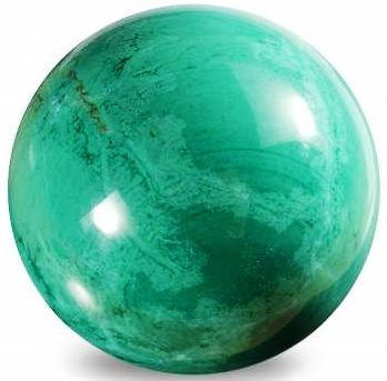 Chrysocolla Howlite Sphere 45mm