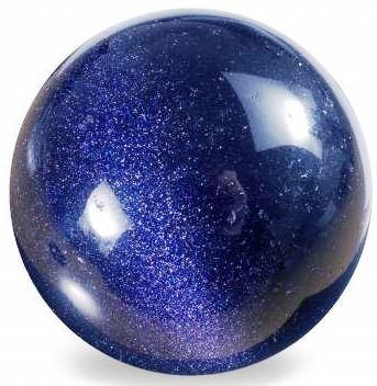 Blue Goldstone Sphere 45mm