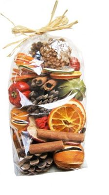 Citrus Potpourri Bag Ex Large With Cones 500g