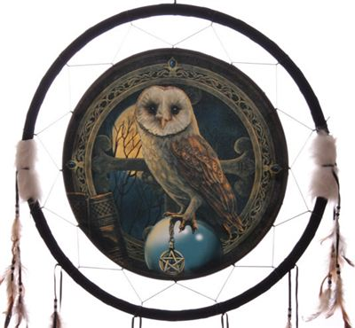 Owl Dream Catcher Large