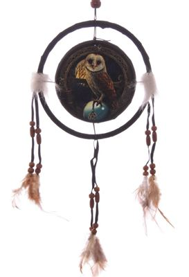 Owl Dream Catcher Small