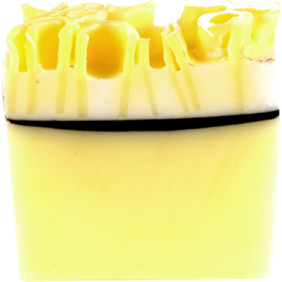 Lemon Meringue Soap Slice 100g