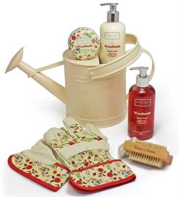 Woodlands Gift Set in Watering Can