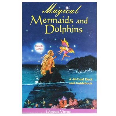 Magical Mermaids and Dolphins Oracle Cards with Guide Book
