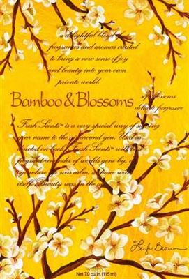 Bamboo & Blossoms Scented Sachet Large