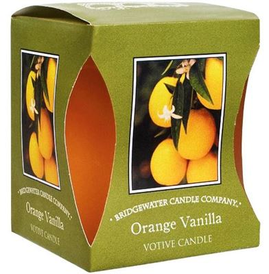 Orange & Vanilla Bridgewater Votive Candle