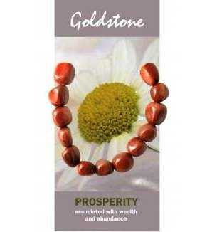 Goldstone Bracelet Natural Jewellery for Prosperity