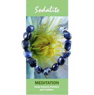 Sodalite Bracelet Natural Jewellery for Meditation