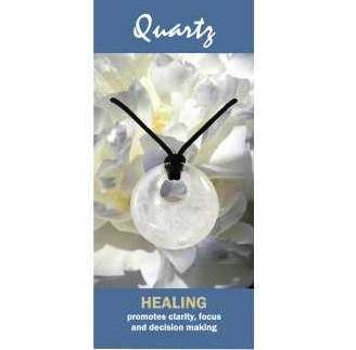 Quartz Agogo Necklace Natural Jewellery for Healing