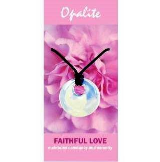 Opalite Agogo Necklace Natural Jewellery for Faithful Love