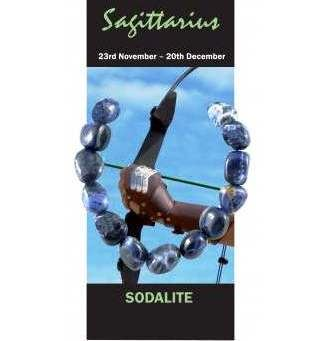Sagittarius Natural Jewellery Bracelet