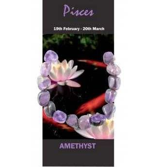 Pisces Natural Jewellery Bracelet