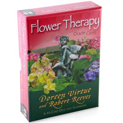 Flower Therapy Oracle Cards and Guidebook