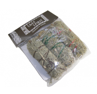 Mini Sage Smudge Sticks Variety 3 Pack 5""